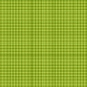"""Prince of Wales check #3, 2"""" apple green"""