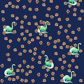 Dinosaur Floral