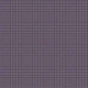 "Prince of Wales check #3, 2"" purple shadows"