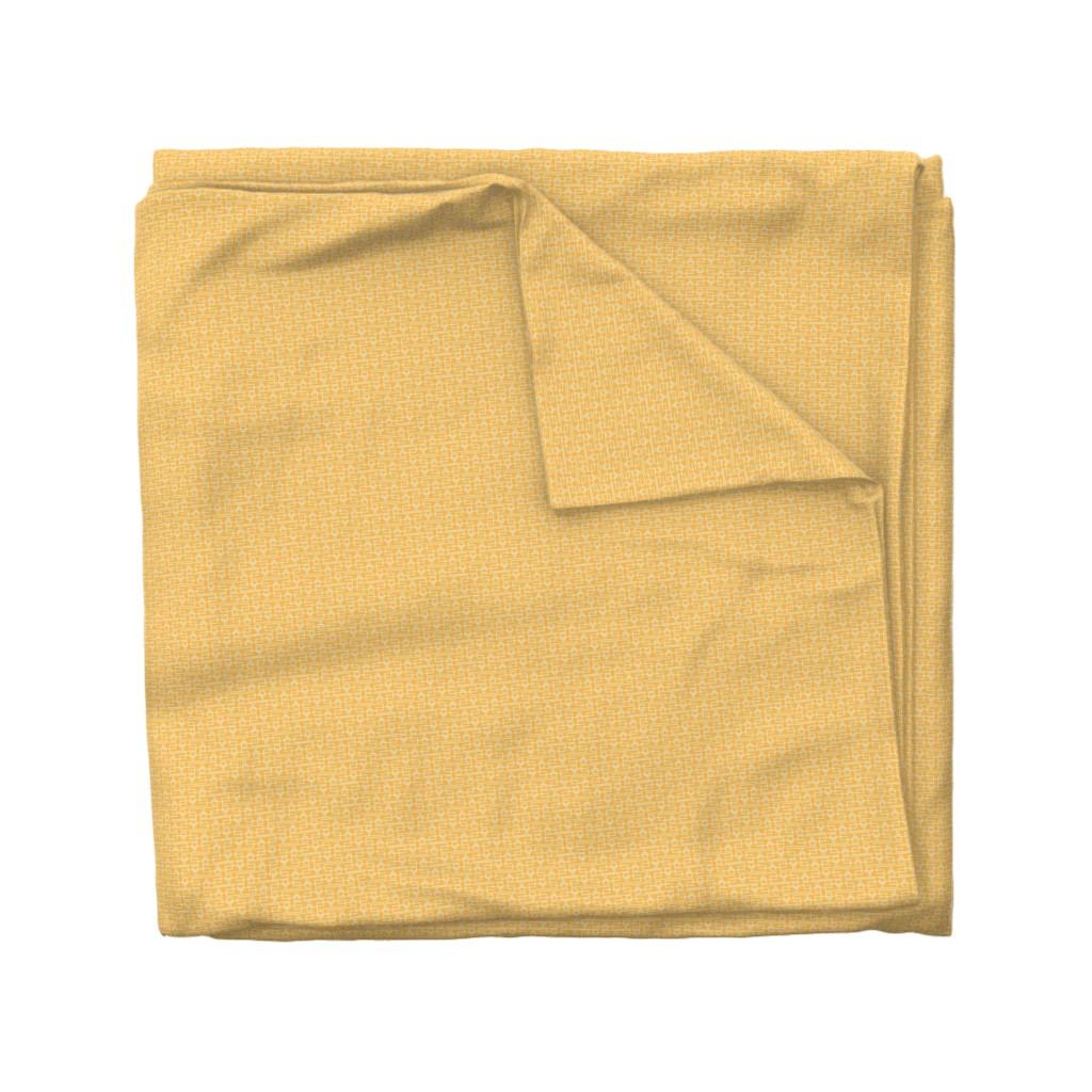 Wyandotte Duvet Cover featuring orange box sm by cindylindgren