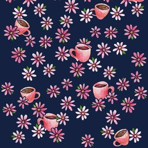 Coffee Lovers floral