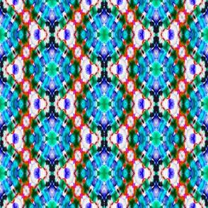 Blue Bubble Burst Diamonds