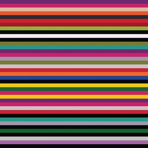Modern Kilim Stripes - multicoloured