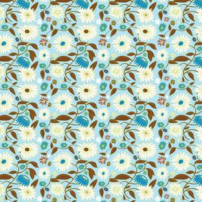 Gerbera Flowers Turquoise