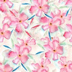loose pink floral