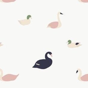 Birds / Swan, Duck, Goose / Maison de Fleurs Collection
