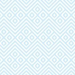 Blanket Diamond Geometric Baby Blue