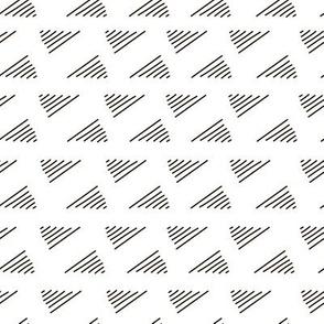 Abstract geometric nook, corner fashion  pattern