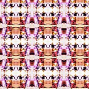 ghawazee dancers (purple, orange, red, white, yellow)