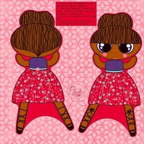Lola Ballerina- cut and sew diy pattern