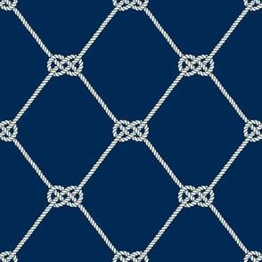Carrick Knot  - Nautical Rope Pattern