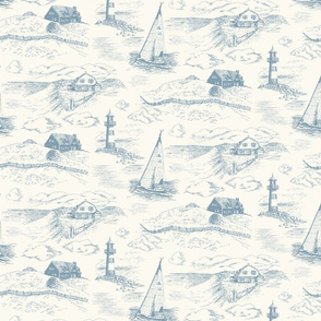 Toile Cape Cod Evening 2