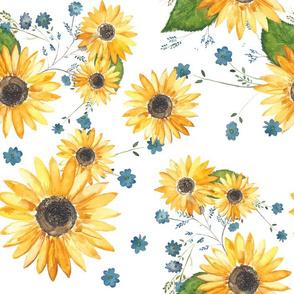 Sunflower Fields - Large