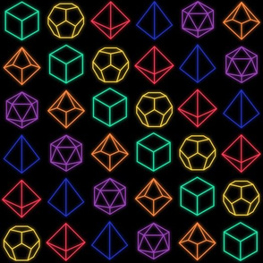 Small Neon Polyhedrals