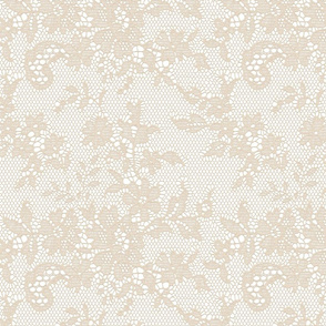 CHAMPAGNE IVORY LACE