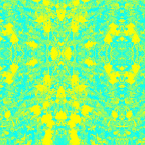 Psychedelic Sour Grass (blue and yellow)