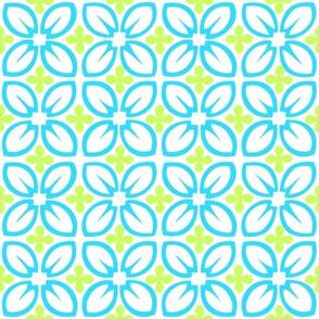 Aloha Petals Blue