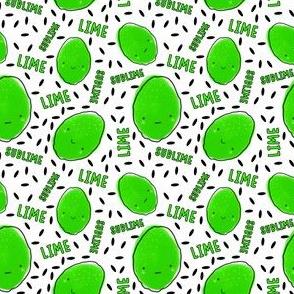 Sublime limes