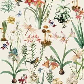 Garden of Dragonflies, Crema // Standard