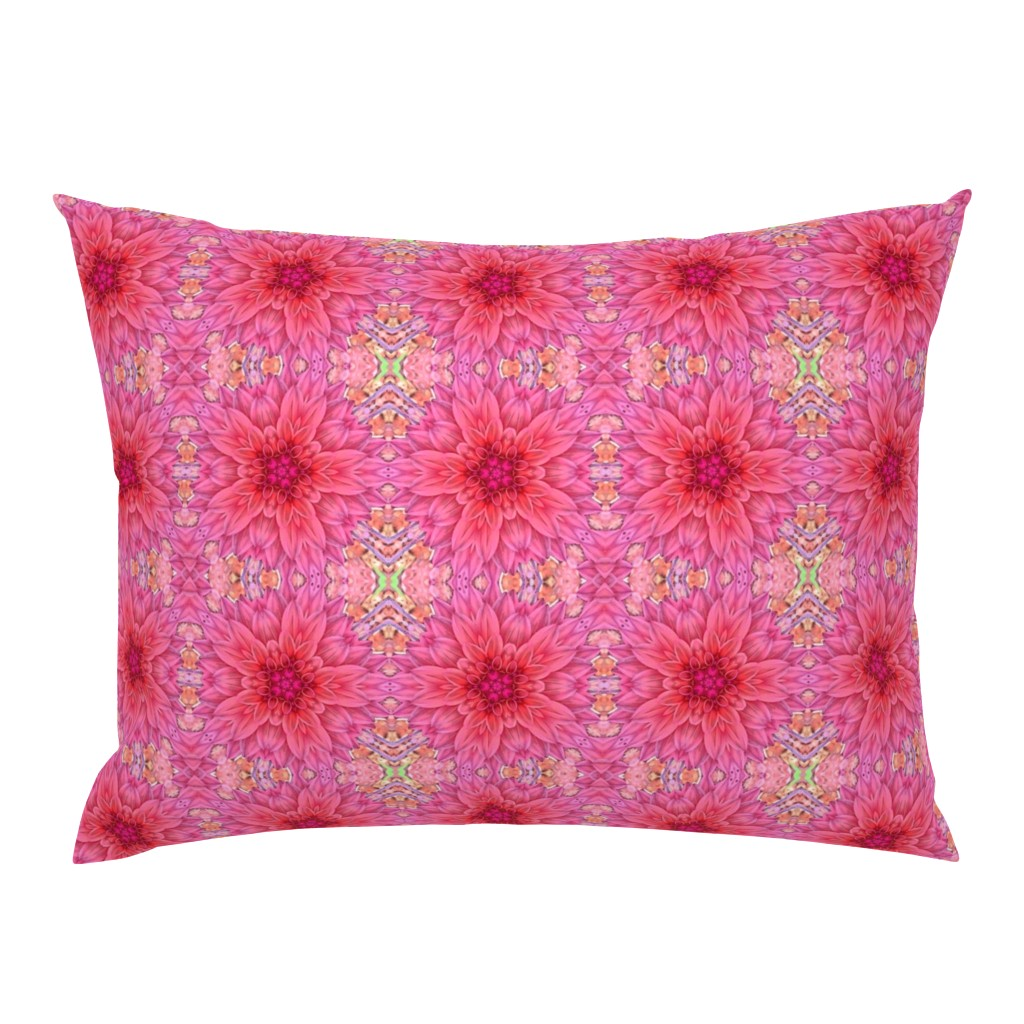 Campine Pillow Sham featuring My Dahlia by thepinkhome