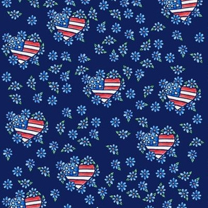 USA American Flag 4th of July