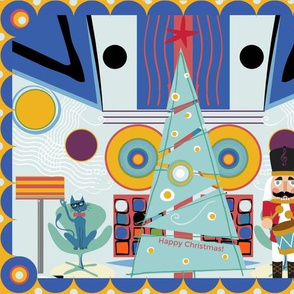 Carnival Christmas Kandinsky's cat