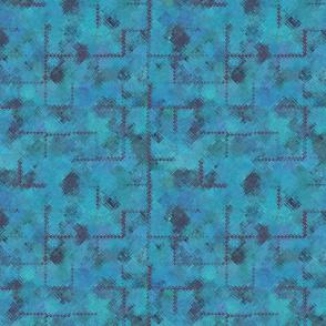 Bauhaus Water Blue