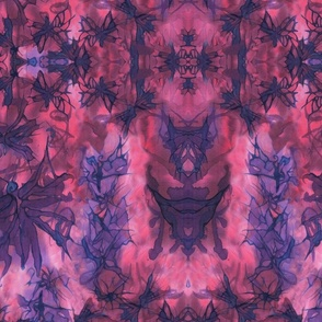 Dream Butterfly Kaleidascope - Purple and Pink