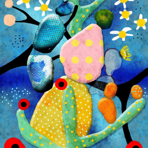 cactus abstract art - Ruth Fitta-Schulz