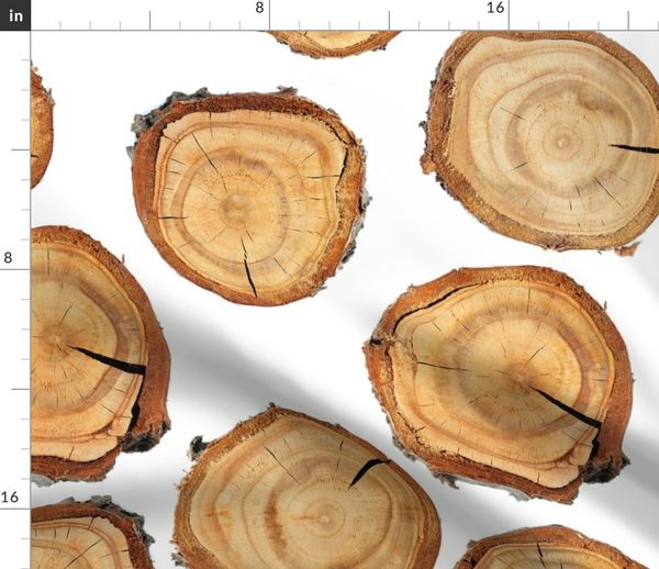 grau 50 Scheiben aus Holz