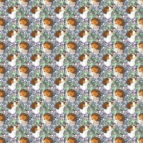 Floral French Brittany portraits E - small