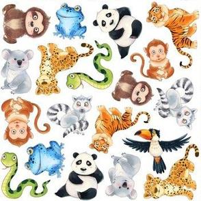 Jungle Animal Patterns