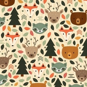 Woodland Creatures Small