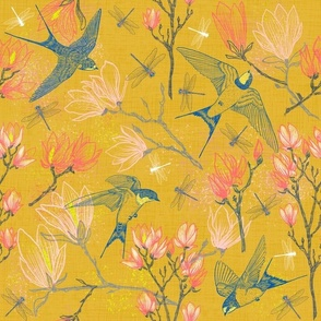 Golden Summer for Swallows & Magnolias