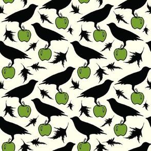 Black Crow on apple