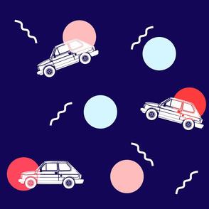 Retro Car Print
