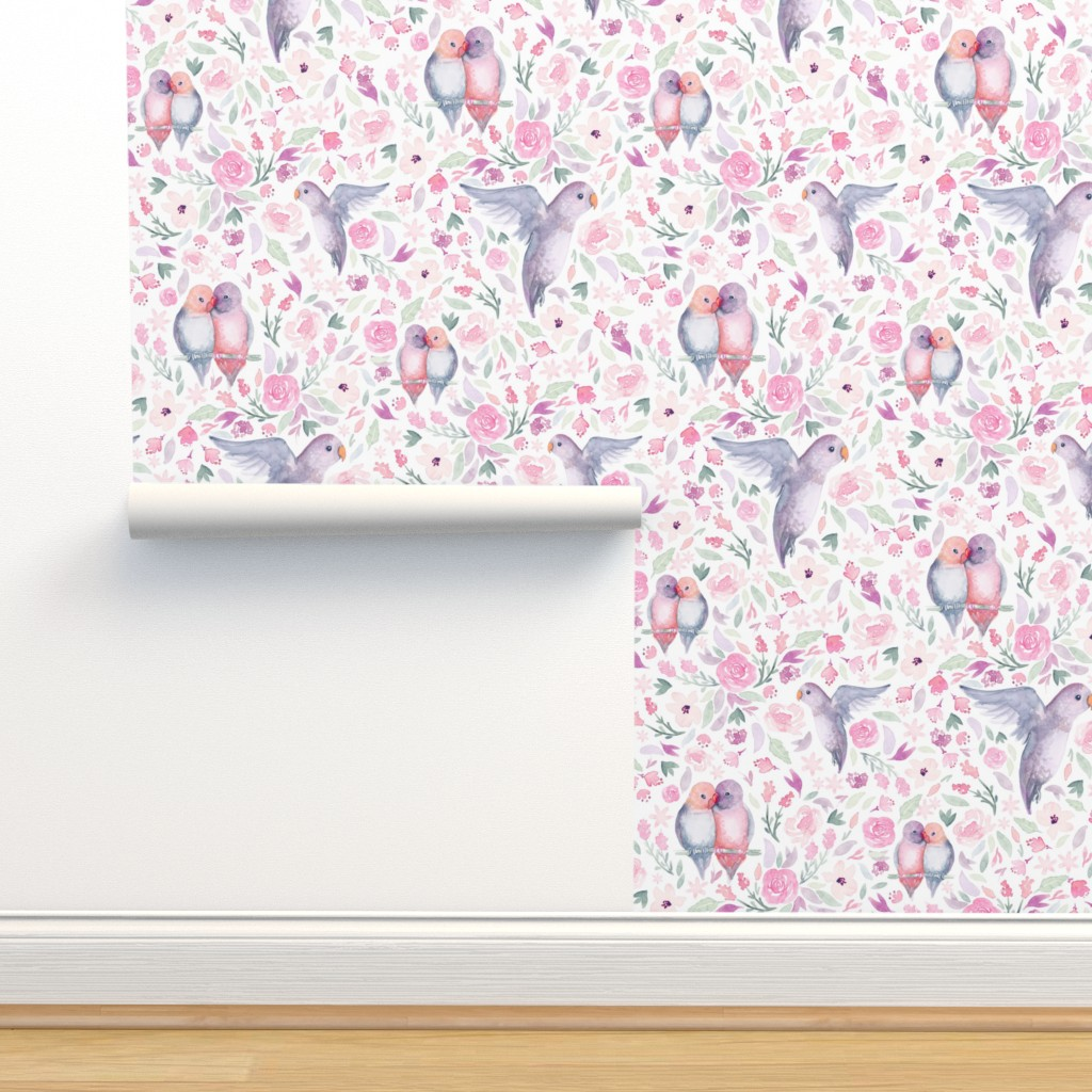 Isobar Durable Wallpaper featuring Fancy Flight by gingerlique