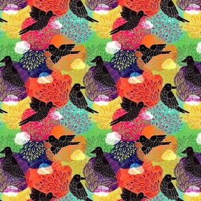 Holi crow
