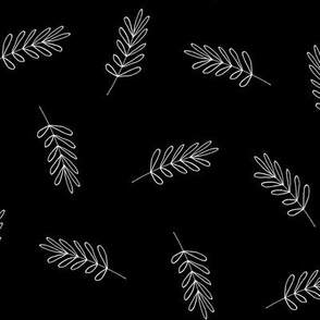 Pattern leaf-B_w inverted-medium-01