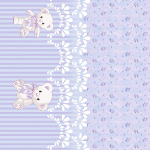 Love Teddy Bears Lavender