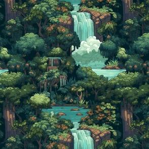 Dark Red Butterfly Pattern