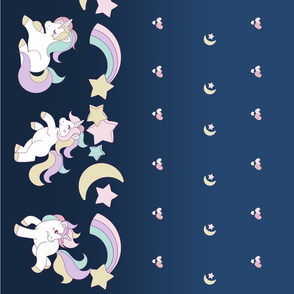 Unicorn Parade Navy