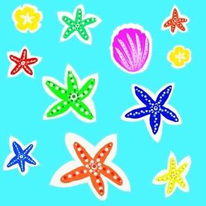 Etoiles de mer - Starfishes