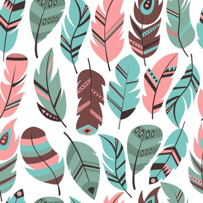 feather pattern 01