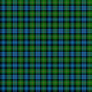 "MacLeod of Skye tartan, 2"" (1/3 scale)"