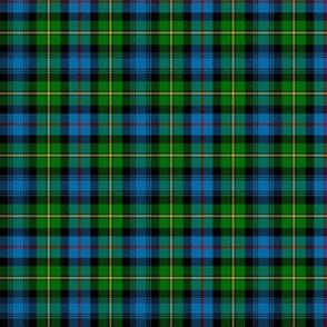 "MacLeod of Skye tartan, 3"" (half scale)"