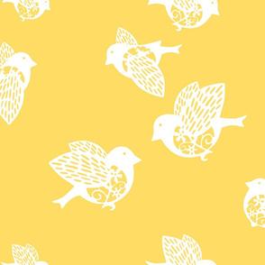 Sparrow yellow