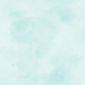 18-06S Mint Blue Green Aqua Blender || Suede Watercolor Textured Grunge Solid _ Miss Chiff Designs