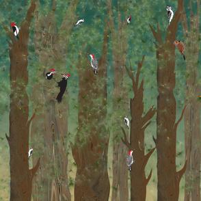 Woodpecker_duvet_evergreen_rev_sml