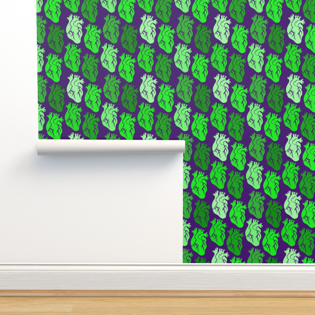 Isobar Durable Wallpaper featuring New Hearts Zombie by pond_ripple